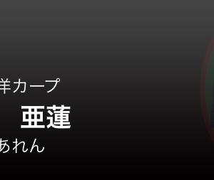 広島・9月8日の予告先発投手