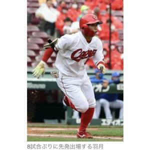 広島・【カープ】羽月、8番三塁で8試合ぶりに先発 同期の小園3番、林4番