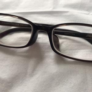 JINSの度付眼鏡(2020年8月)