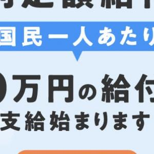 特別定額給付金(一人10万円)の申請をしました ネットで受付しています