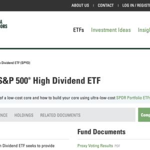高配当ETF【SPYD】に投資継続して良いか?(1)