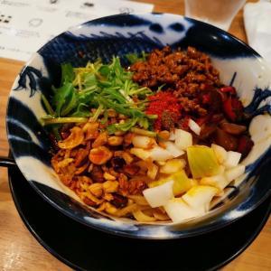 【神戸】ミシュラン掲載店📖クセになるシビ辛担々麺の名店へ!