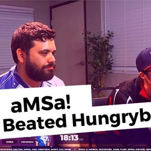 aMSa(あむさ)選手、SmashSummit(スマッシュサミット)8シングルストーナメント予選にてスマブラDX世界ランキング1位のHungrybox選手を破る!