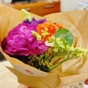 お花の定期便をお試ししてパワーアップしたワタクシ。