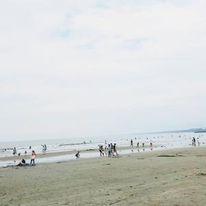 海辺でのんびり