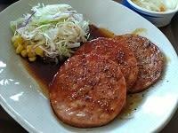 あらびきソーセージ朝食(すき家)