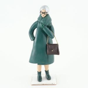 """COOL氏の人形 """"これやん""""にCOOL氏の作品「緑色のコートを着た銀髪のダニェラ婦人」が掲載されました。"""