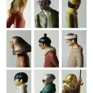 COOL氏の人形  創作人形「MODELS」人形の横顔を一部抜粋しました。