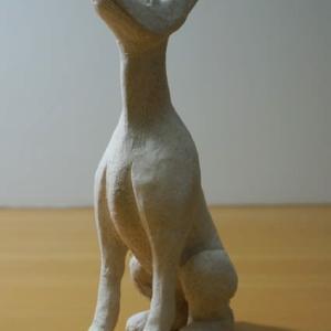 COOL氏の人形  「モリス老人」と組み合わせる「ドーベルマン」を作っています。