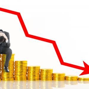 【共働き夫婦のお金の考え方】新型コロナウイルスの影響で保有株の株価下落が止まらない(泣)