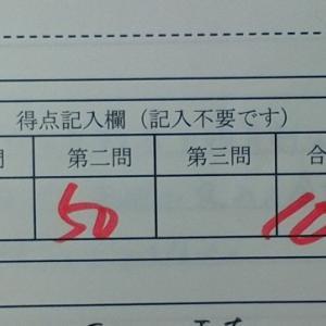 住民税第2回確認テストの答案が返ってきました