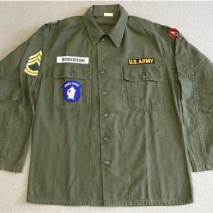 アメリカの軍服  陸軍ユーティリティジャケット(初期型)とは? 0179  🇺🇸