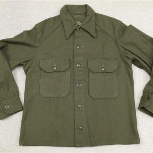 アメリカの軍服 陸軍防寒ウールシャツ(初期型)とは?  0210  🇺🇸
