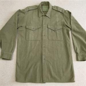 イギリスの軍服 陸軍ウールシャツとは? 0213  🇬🇧 ミリタリー