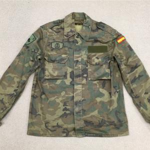 スペインの軍服 陸軍迷彩ジャケット(その3)とは?  0327   🇪🇸  ミリタリー