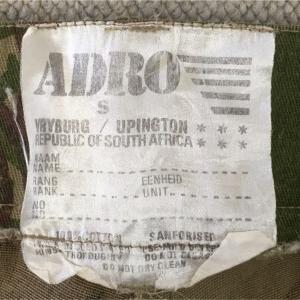 【南アフリカの軍服】陸軍特殊部隊迷彩服(官給品)とは? 0395 🇿🇦ミリタリー