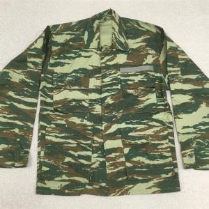【ギリシャの軍服】陸軍迷彩服(リザードパターン)とは? 0406🇬🇷ミリタリー