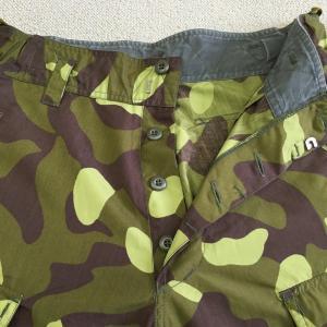 【フィンランドの軍服】陸軍迷彩トラウザース(夏パターンPX品)とは? 0417 🇫🇮ミリタリー