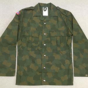 【ノルウェーの軍服】空軍迷彩シャツ(後期パターン)とは? 0418 🇳🇴ミリタリー