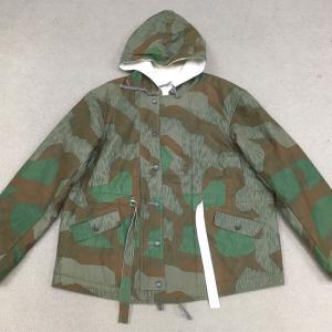 【ドイツの軍服】陸軍防寒リバーシブル迷彩パーカー(スプリンターパターン)モデル品とは? 0423 🇩🇪ミリタリー