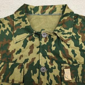 【国籍不明】旧ソ連/ロシア系陸軍VSR(ショフィールド)類似迷彩服とは? 0429 Unknown ミリタリー