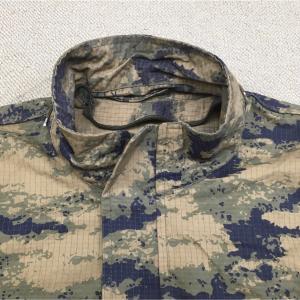 【トルコの軍服】空軍迷彩防寒パーカー(ブルーダット迷彩)とは? 0435 🇹🇷ミリタリー
