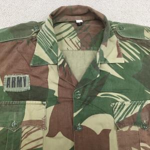 【ローデシアの軍服】陸軍迷彩ユニフォーム(PARAMOUNT社製)とは? 0463 Rhodesia ミリタリー