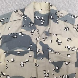【サウジアラビアの軍服】空軍迷彩ユニフォーム(グレイチョコチップ)とは? 0483 🇸🇦ミリタリー