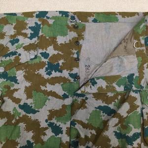 【旧東ドイツの軍服】陸軍迷彩オーバーパンツ(ブルメン迷彩)とは? 0518 DDR ミリタリー
