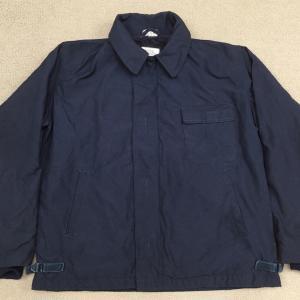 【アメリカの軍服】海軍防寒難燃デッキジャケット(ブルーアラミド)とは? 0558  🇺🇸 ミリタリー
