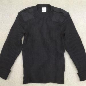 【イギリスの軍服】コマンドセーター(ブラック・モデル品)とは? 0585  🇬🇧 ミリタリー