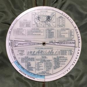 飛行安全のために!【アメリカ軍装備品?】空軍パイロットウェザーコンピューター(CK–1・1959)とは? 0762 🇺🇸 ミリタリー