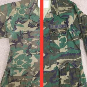 まるで別の迷彩服!【アメリカの軍服】空軍&海兵隊迷彩ジャケット(ブラウンリーフ又はLCリーフ)2種とは? 0779 🇺🇸 ミリタリー