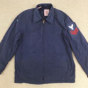 伝統のジャケット!【アメリカの軍服】海軍ユーティリティージャケット(デッキジャケット・4ポケットタイプ)とは? 0780 🇺🇸 ミリタリー