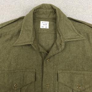 クラシカルな雰囲気が最高!【イギリスの軍服】陸軍ウールシャツ(1955年度契約品) とは?0829 🇬🇧 ミリタリー