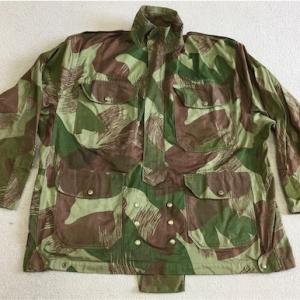 ベルギー製イギリス連邦国用軍服(?)陸軍空挺迷彩スモックとは?  0135  🇧🇪 or Unknown