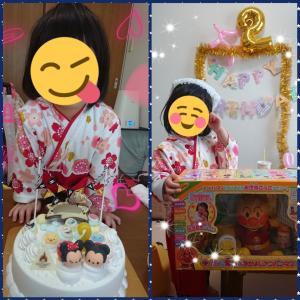 2歳の誕生日会