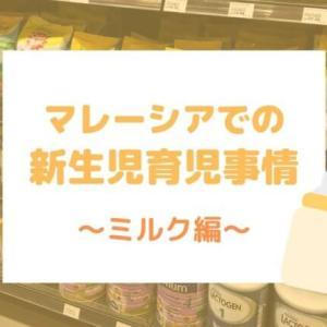 【マレーシア子育て】新生児のミルク事情 ~粉ミルクのブランドや授乳グッズをご紹介~