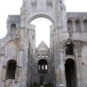 ジュミエージュの廃墟