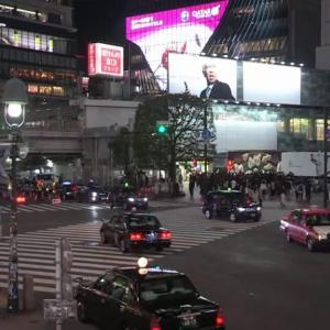渋谷のスクランブル交差点(2020/3/28)