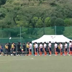 2019 東京都 U-18 サッカーT1リーグ 9/28 vs.関東第一