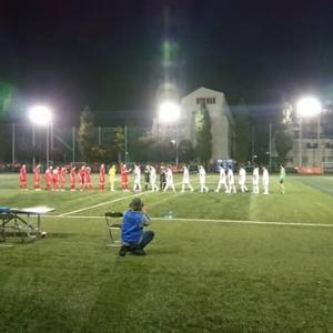 2019 東京都 U-18 サッカーT2リーグ 第15節 10/6 vs.三菱養和
