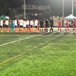 2019 東京都 U-18 サッカーT4リーグ 順位決定戦 10/7 vs.都立石神井