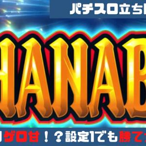 【パチスロ立ち回り講座:新ハナビ編】やっぱりゲロ甘!?設定1濃厚台で5000G回した結果
