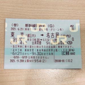 【一時帰国】マジで!?新幹線グリーン席で帰省♪