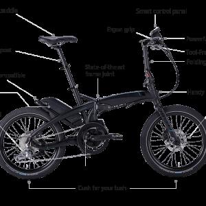 約一か月ぶりに最先端折り畳み式スポーツミニベロのE-Bike TernのVektron S10改に乗りました