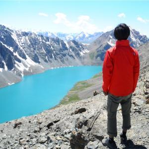 【キルギス②】秘境!死を意識した4,000Mアラコル湖トレッキング