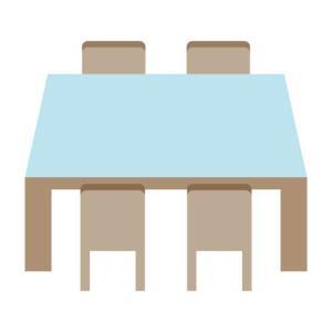 【ニトリ】机と椅子セットがいい?ダイニングテーブル一人暮らしに
