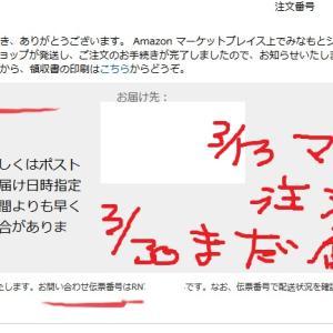 【マスクAmazon届かない?】追跡できない中国から1週間さらに?