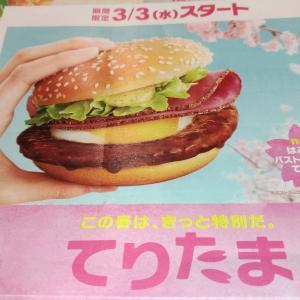 【てりたまバーガー2021】早く食べたいマクドナルドメニュー